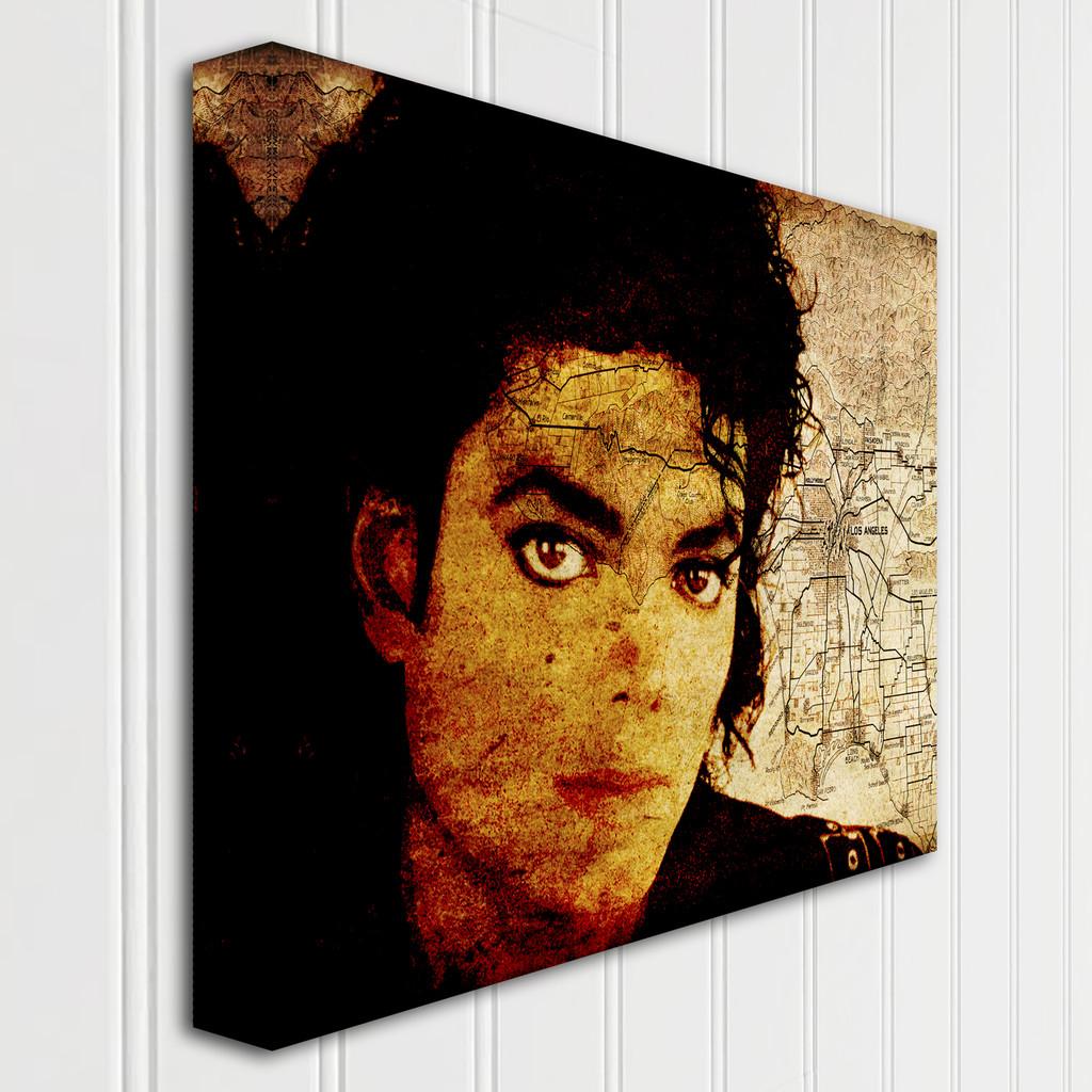 Michael Jackson on LA- Gallery Wrap