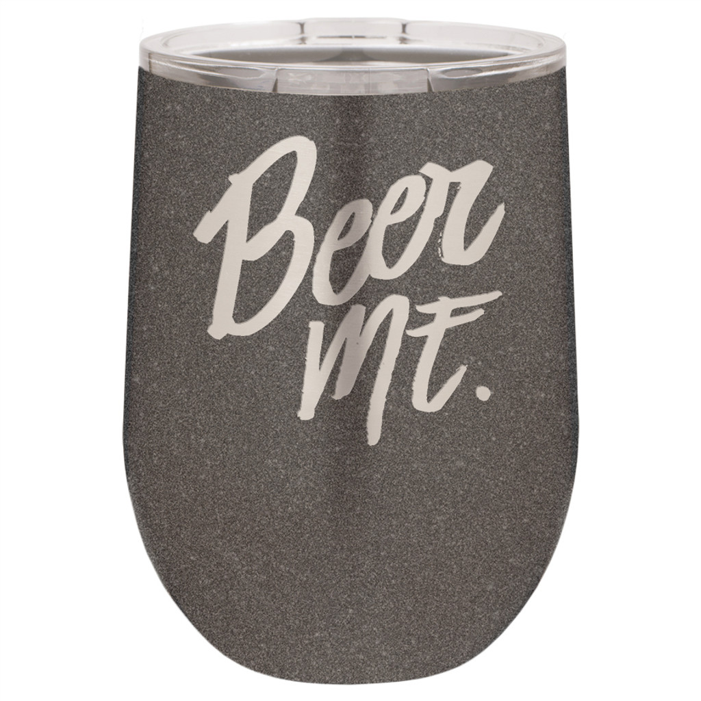 Beer Me - Stemless Tumbler