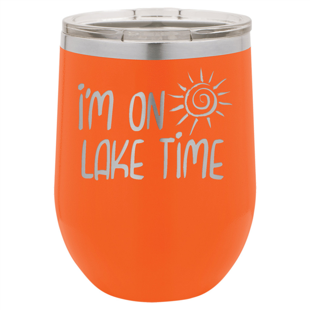 I'm On Lake Time - Stemless Tumbler