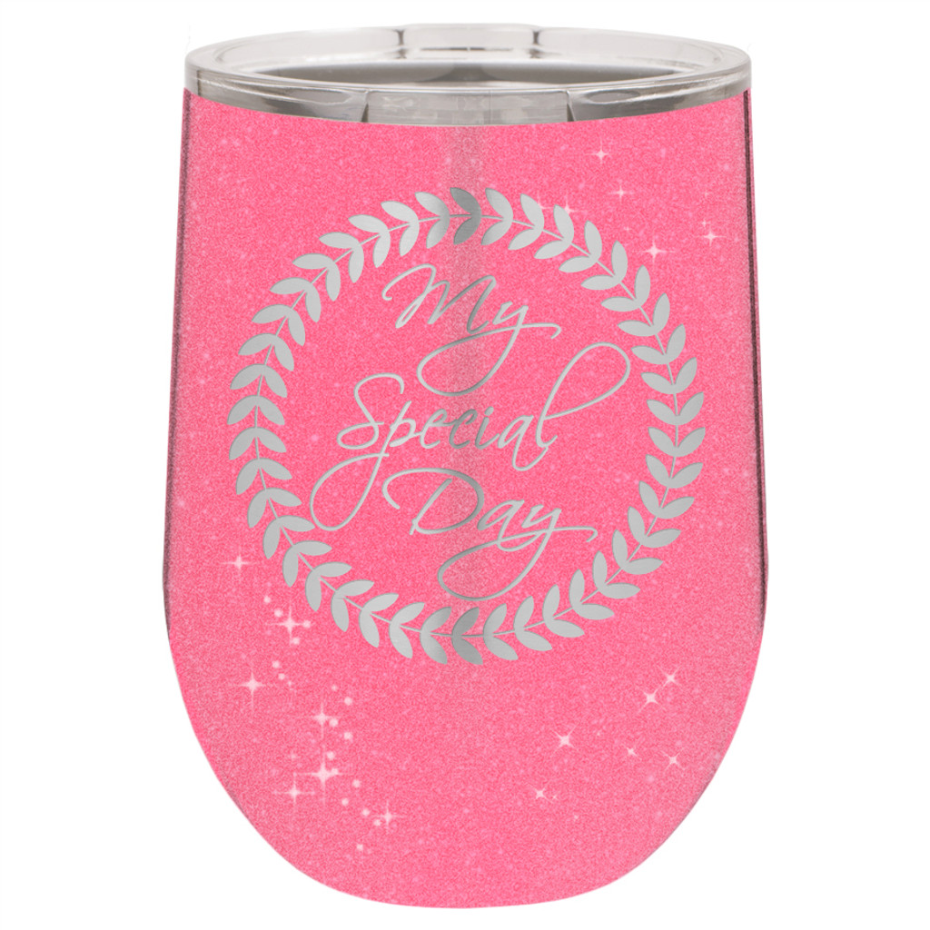 My Special Day - Stemless Tumbler
