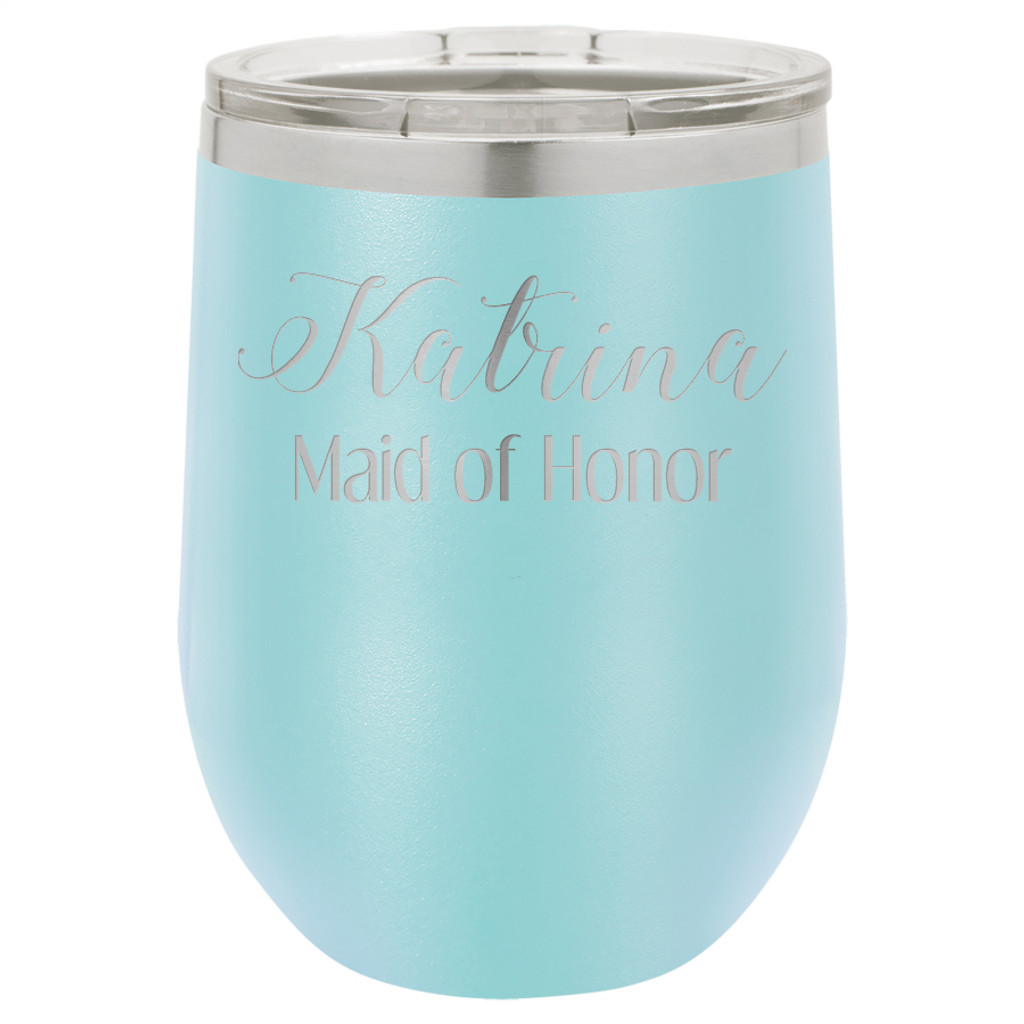 Personalized Maid of Honor - Stemless Tumbler