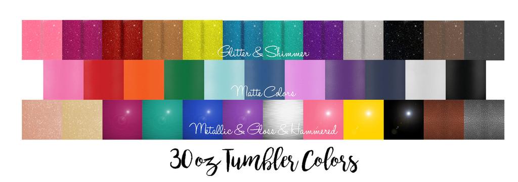 Personalized Bridesmaid - 20 & 30 oz Tumbler