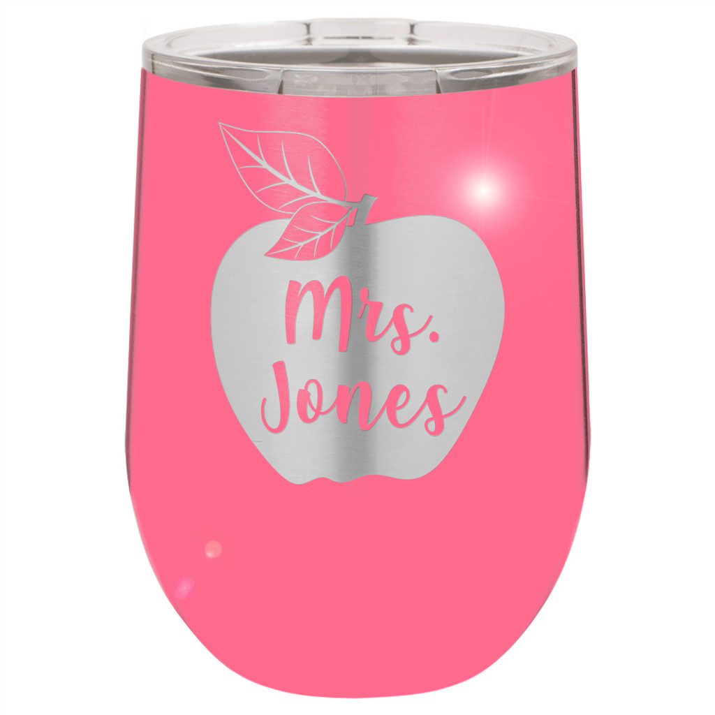 Apple Name - Stemless Tumbler