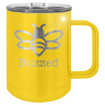 Buzzed - 15 oz Coffee Mug