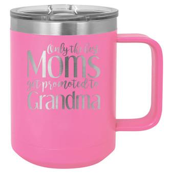 Promoted to Grandma - 15 oz Coffee Mug