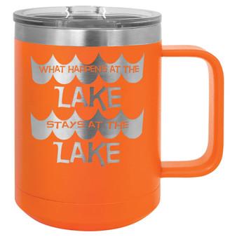 What Happens at the Lake - 15 oz Coffee Mug