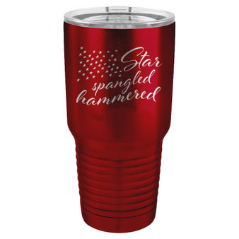 Star Spangled Hammered - 20 & 30 oz Tumbler