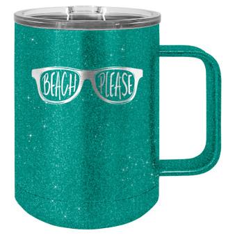 Beach Please - 15 oz Coffee Mug