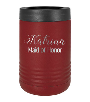Personalized Maid of Honor - Beverage Holder