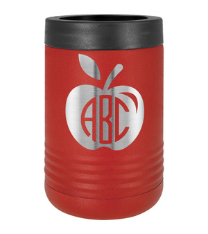 Apple Monogram - Beverage Holder
