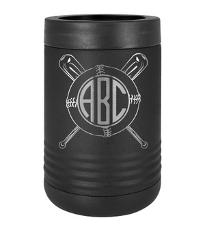 Baseball Monogram - Beverage Holder