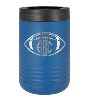 Football Monogram - Beverage Holder