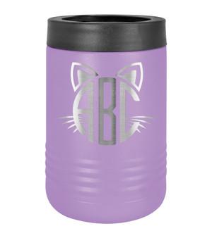Cat Monogram - Beverage Holder
