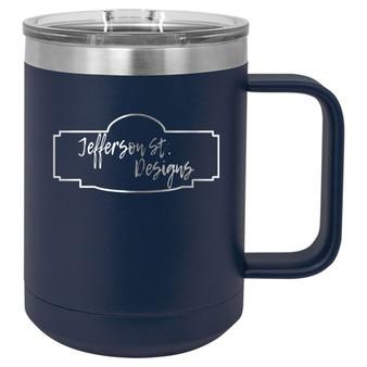 Custom Logo - 15 oz coffee mug