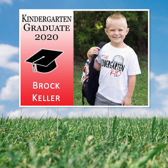 Graduation Yard Sign with Photo- Other Grades
