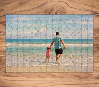 Custom Laser Cut Wood Puzzle