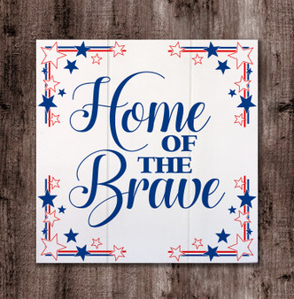 Home of the Brave - Boxed Board