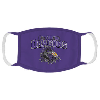 Pittsburg Dragons Face Mask