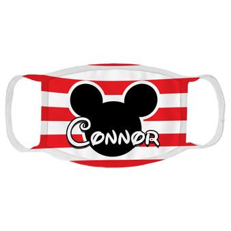 Custom Mickey Mouse Face Mask