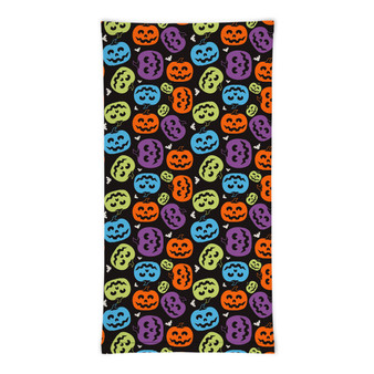 Colorful Pumpkins Gaiter Mask Face Cover