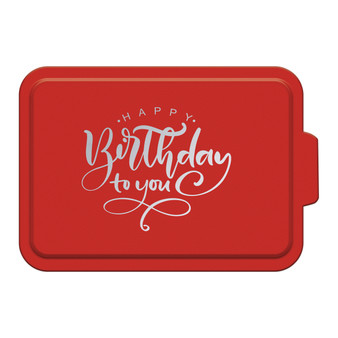 Happy Birthday To You - Aluminum Cake Pan