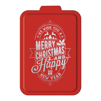 We Wish You a Merry Christmas - Aluminum Cake Pan