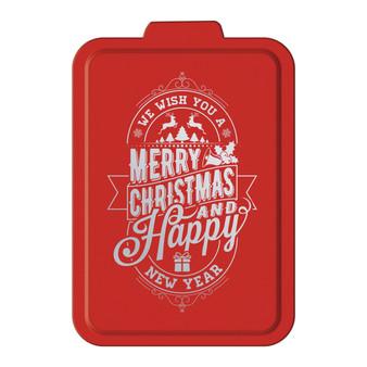 We Wish You a Merry Christmas - Aluminum Cake Pan