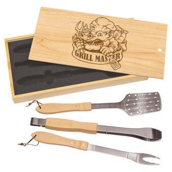 Grill Master - 3-Piece BBQ Set
