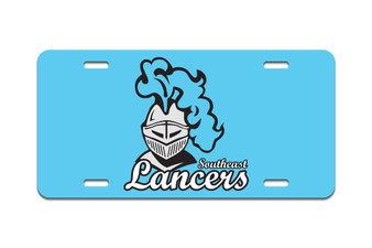 Southeast Lancers - Front License Plate