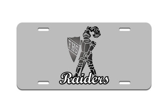 Frontenac Raiders - Front License Plate