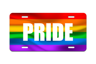 LGBT - Front License Plate