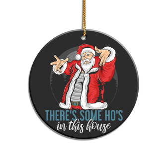Ho's in this House Pandemic Acrylic Ornament