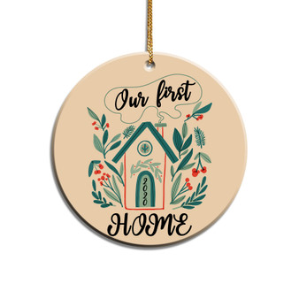 Our First Home Pandemic Acrylic Ornament
