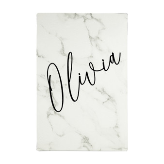 Personalized Script Name - Leatherette Journal