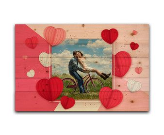 Custom Valentine Hearts - Photo Pallet