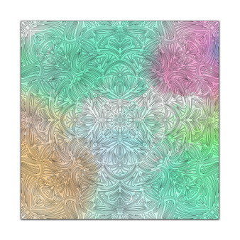 Organic Mandala - Giant Coloring Poster