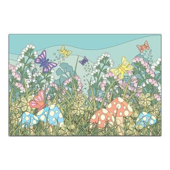 Magical Spring Garden - Giant Coloring Poster