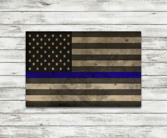 Thin Blue Line Flag Pallet
