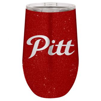 PSU Script Pitt - Stemless Tumbler