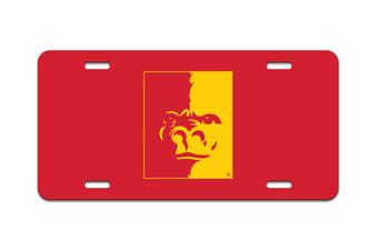 PSU Gorilla Splitface - Front License Plate