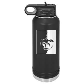 PSU Gorilla Splitface  - 32 oz Water Bottle