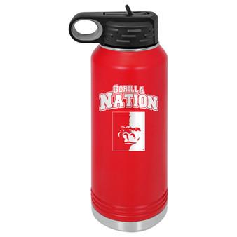 PSU Gorilla Nation  - 32 oz Water Bottle
