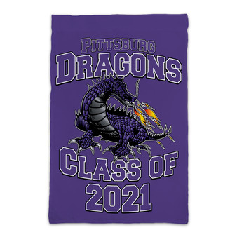 Custom Pittsburg Dragons - Garden Flag