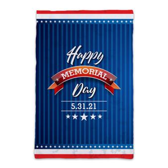 Happy Memorial Day - Garden Flag