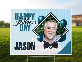 Custom Photo Father's Day - Yard Sign