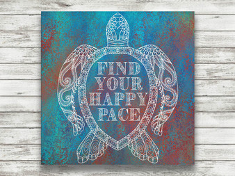 Find Your Happy Pace - Gallery Wrap