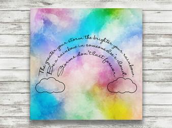 Be A Rainbow - Gallery Wrap