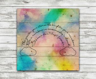 Be A Rainbow- Pallet