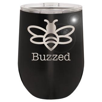 Buzzed- Stemless Tumbler