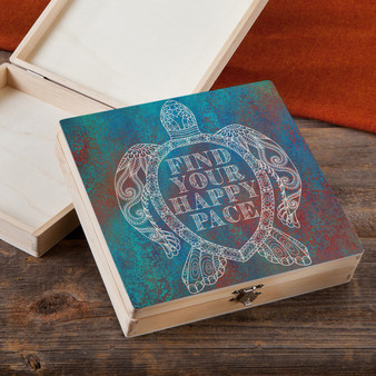 Find Your Happy Pace - Wood Gift Box